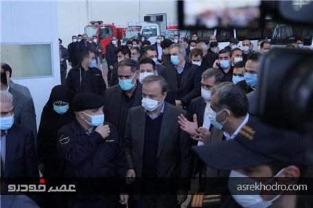 کامیونت ایرانی شیلر8 تن رونمایی و خط تولید انبوه مینی بوس پگاسوس افتتاح شد