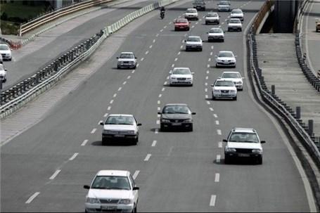تردد وسایل نقلیه در محورهای برون شهری 22.8 درصد افزایش یافت