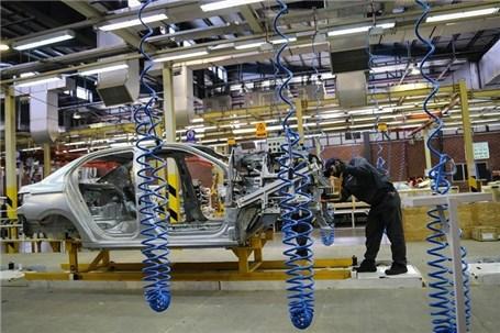 کاهش تولید در ۳ خودروساز بزرگ کشور