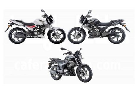 قیمت انواع موتورسیکلت در چهارم مهر 1400